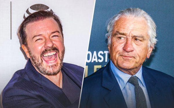 Ricky Gervais and Robert De Niro