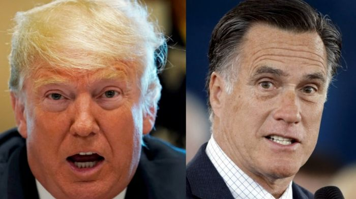 Mitt Romney Claims That Impeaching Trump Is Crucial To Bring 'Unity In Our Country'