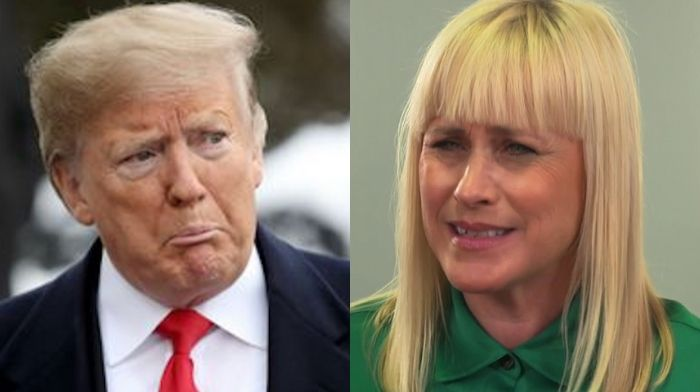 Patricia Arquette claims 'Donald Trump is not the legitimate president of the United States'