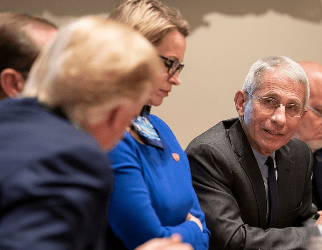 White House: Media chatter about firing Dr. Fauci is 'ridiculous'; he's a trusted adviser to President Trump