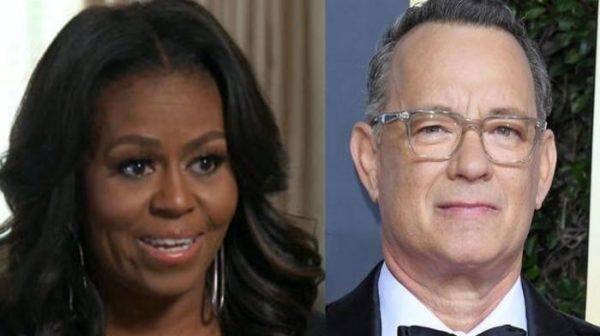 Michelle Obama Tom Hanks