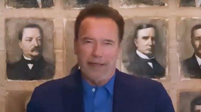 Arnold Schwarzenegger shamelessly uses commencement speech to attack President Trump