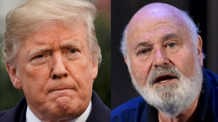 Rob Reiner Demands President Trump Be Investigated For 'Federal Crimes'
