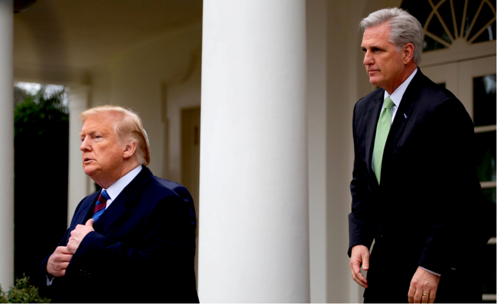 GOP House Leader Kevin McCarthy warns this could be last ...