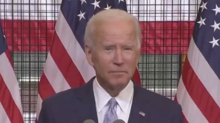 Joe Biden Appears To Botch The Pledge Of Allegiance