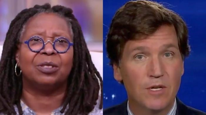 Whoopi Golberg Demands Tucker Carlson Apologize For 'Nasty Way' He Treated Kristen Welker