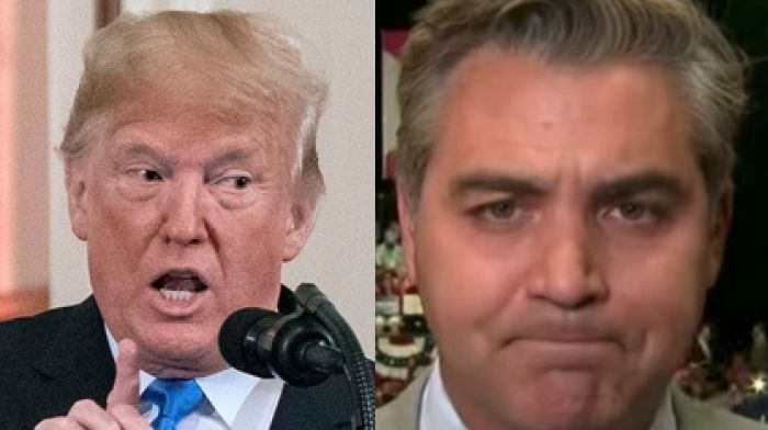 CNN's Jim Acosta Whines Trump Supporters Took Up President's 'Hostility' Towards Media