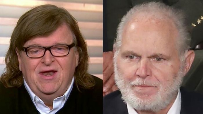 Michael Moore Launches Vile Attack On Rush Limbaugh - Adds 'You Can't Get More Stupid Than The State Of Texas'