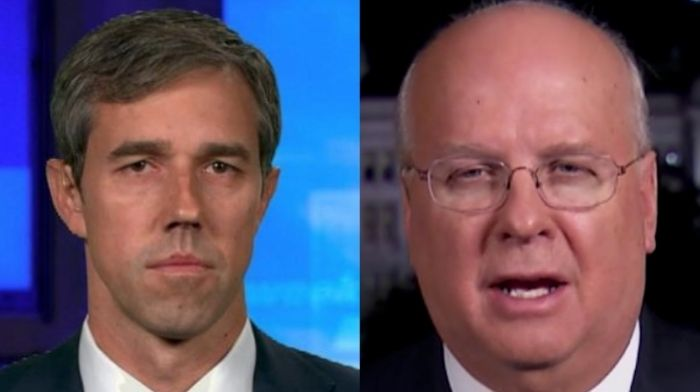 Karl Rove Reveals Why He's 'Looking Forward' To Beto Running For Texas Governor – 'Nothing Succeeds Like Failure For Him'