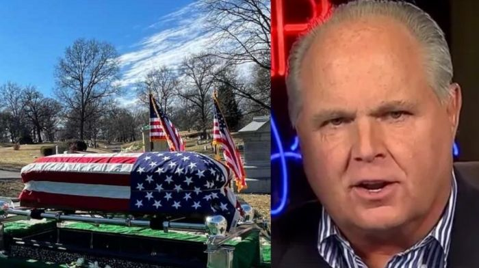 Rush Limbaugh Is Laid To Rest At Cemetery In St. Louis, Missouri