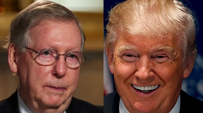 Mitch McConnell Is Asked Directly If He Regrets Condemning Trump After Riots - Desperately Dodges The Question